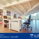 Gli interni degli uffici in vendita al Centro Marconi