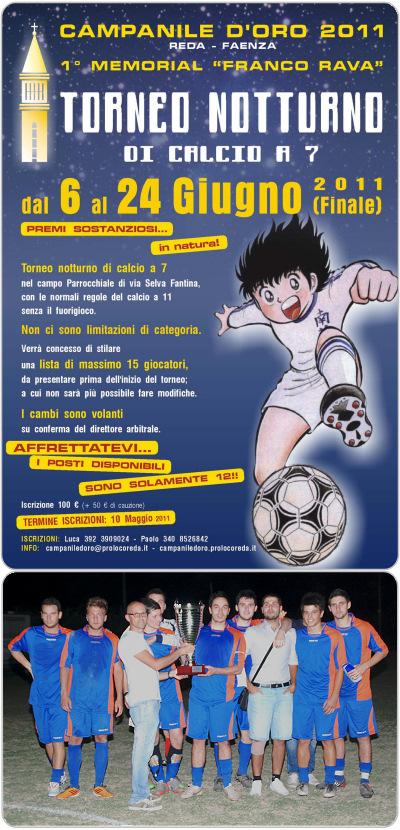 Torneo calcio Reda