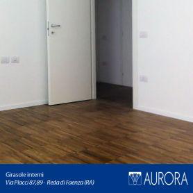Gli interni degli appartamenti Girasole
