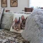 home staging dettaglio divano