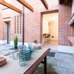 home staging allestimento patio esterno privato