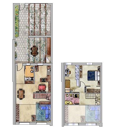 Planimetrie borgo cavaliera aurora case preziose for Planimetrie di case personalizzate