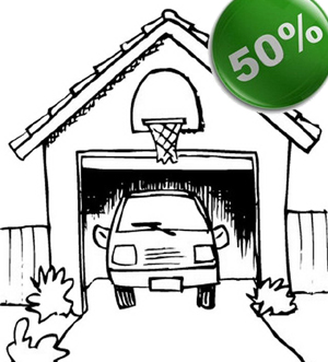 Detrazione garage 50%