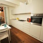 Cucina arredata del Loft
