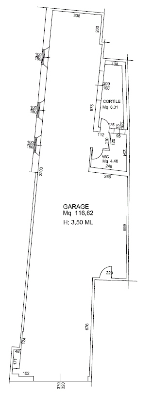 Garage in centro storico Faenza