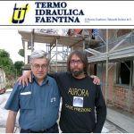 Gualtiero Parrini è titolare dell'azienda Termo Idraulica Faentina, da sempre collaboratore di fiducia di Aurora.