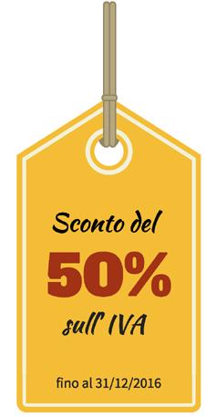 Detrazione IVA 50% 2016