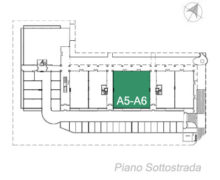 A5/A6 piano seminterrato Centro Marconi
