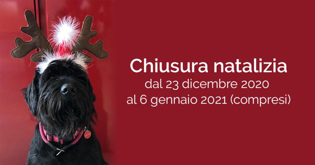 Chiusura natalizia 2020